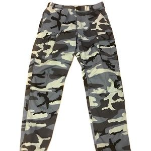 Rothco Ultra Force Blue Camo Military Cargo Pants